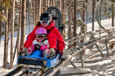 Make time on your last day in Breck to experience the rush of the Gold Runner Alpine Coaster. | Photo: Carl Scofield/Breckenridge Ski Resort