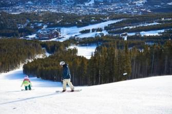 Family spring skiing trip to Breckenridge, Breckenridge spring skiing