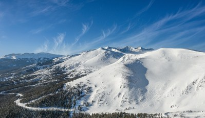 Breckenridge bowl terrain, Breakenridge's Peaks