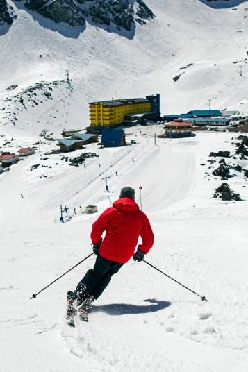 Racing at Ski Portillo