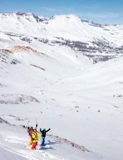 Valle Nevado skiing