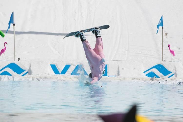 Vail pond skimming championships