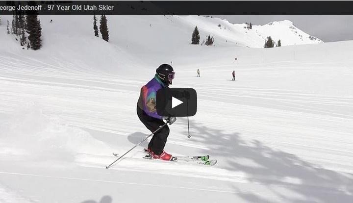 97 year old Utah skier, George Jedenoff