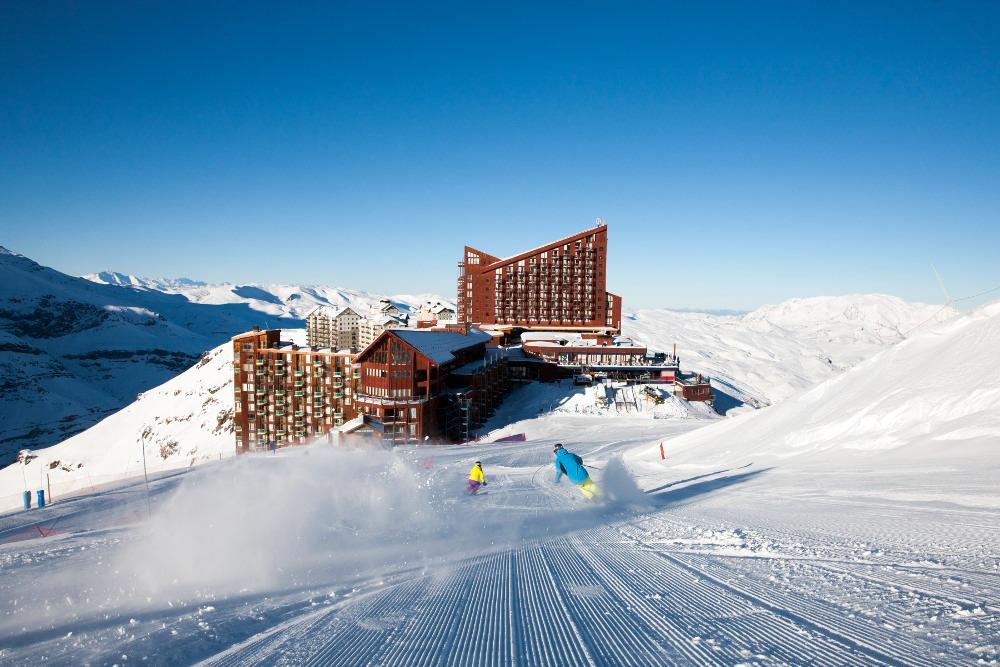 ski in ski out Valle Nevado
