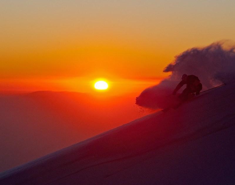 skiing Valle Nevado, ski Valle Nevado