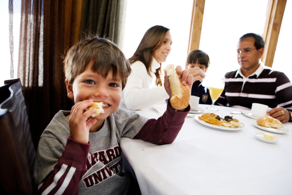 family friendly restaurants Valle Nevado