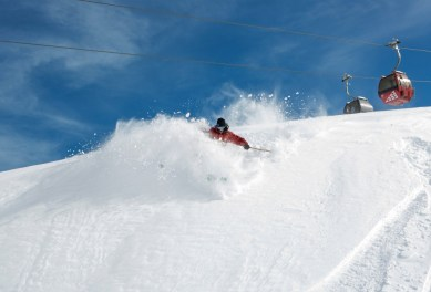 Valle Nevado receives the most snow of all ski resorts in Chile's central valley. | Photo: Valle Nevado