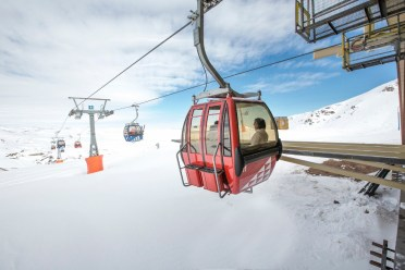 Valle Nevado is the home of Chile's first ski resort gondola. | Photo: Valle Nevado