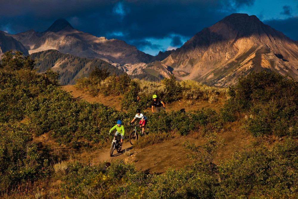 mountain biking Snowmass