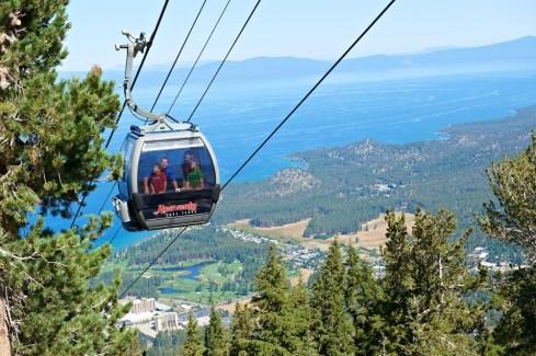 Heavenly gondola, Lake Tahoe summer