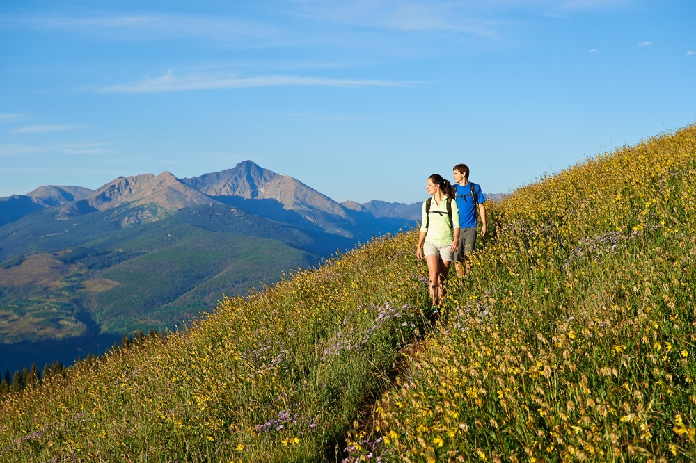 Vail hiking, hiking trails in Vail