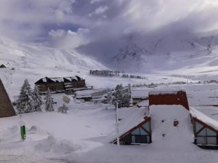Las Lenas with 1 meter of new snow