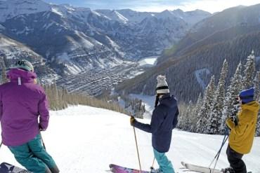 steeps Telluride ski resort
