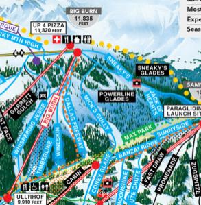besgt Glade skiing in Aspen Snowmass