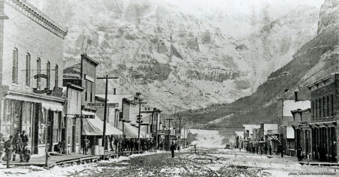 Telluride in the 1880s