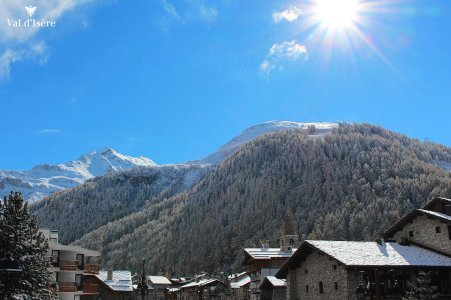 Val d'Isere october snow
