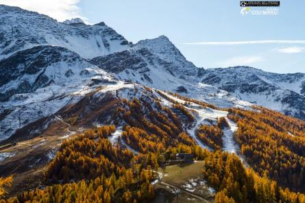 snow Italian alps, october snow in alps, october snow in Europe