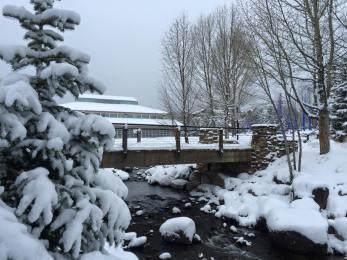 new snow Breckenridge