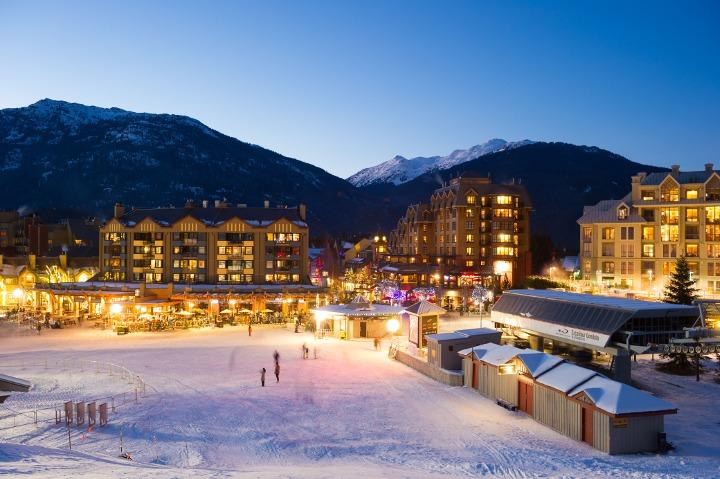 Skier's Plaza Whistler