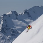expert skiing on Whistler Mountain