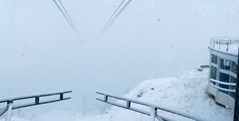 Squaw Valley snow