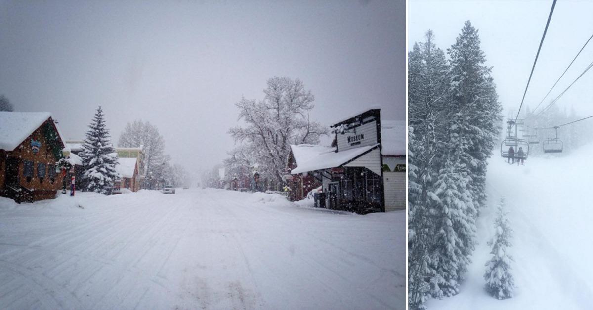 Big storm brings white Christmas to ski resorts