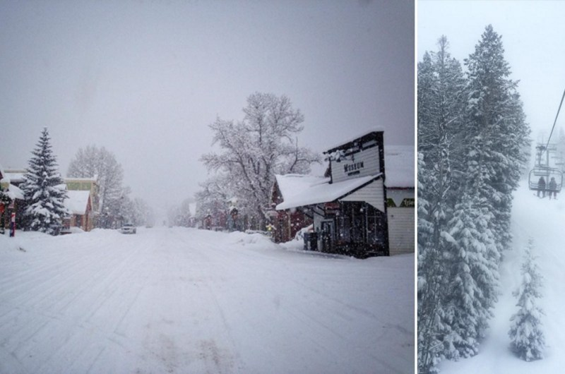 Big storm brings white Christmas to ski resorts