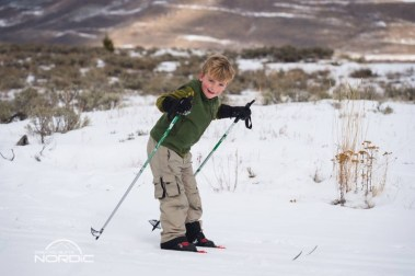 Make some memories and have some giggles as you and your gaggle learn to Nordic ski. | Photo: Crested Butte Nordic Center