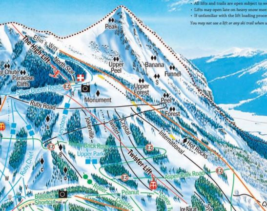 Crested Butte's iconic Peak is skiable, too. Enjoy 47-degree pitches and 2,000 vertical feet.