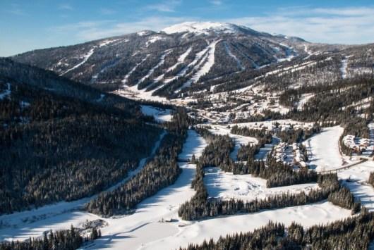 Sun Peaks ski terrain