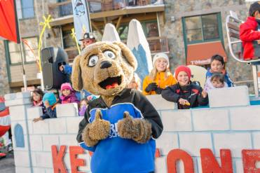 Ripperoo Parade, a daily Keystone event celebrating snow and kids. | Photo: Vail Resorts