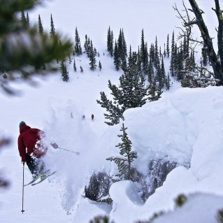 Consistent snow has made those landings nice and soft | Photo: Antoine Caron Cabana, Kicking Horse Mountain Resort