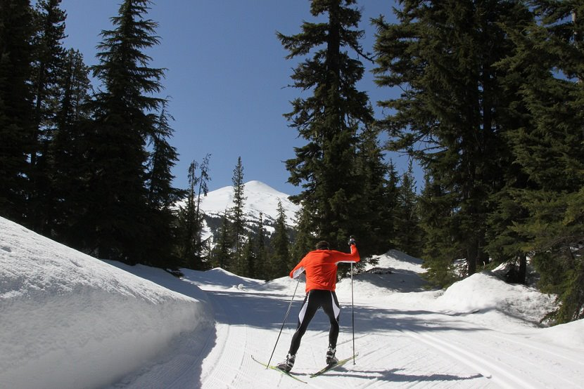 14 us ski resorts with awesome cross country skiing mt bachelor cross country mt bachelor nordic sciox Image collections