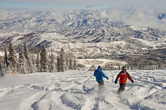 A powder day at Aspen Snowmass. | Photo: Aspen Snowmass
