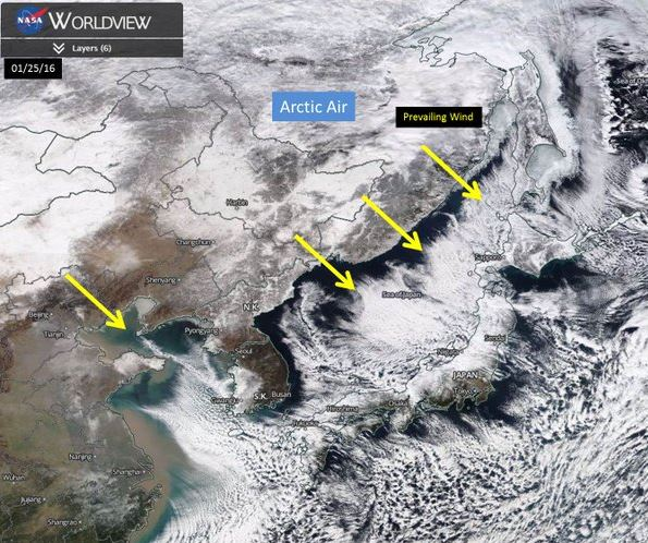 Japan snow, Japan sea effect snow, Japan powder