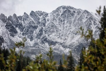 August snow dusts Copper Mountain. | Photo: Tripp Fay, Copper Mountain