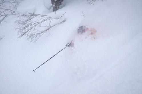 Kiroro snow, Kiroro snowfall