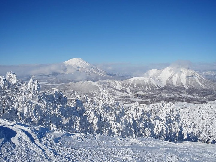 Rusutsu resort, skiing in Rusutsu