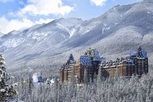"Fairmont Banff Springs Hotel is called the ""Castle of the Rockies."""