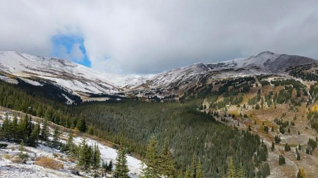 Breckenridge frosted on Sept. 24 | Photo: Breckenridge Ski Resort