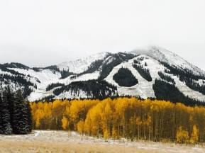 September snow at Crested Butte