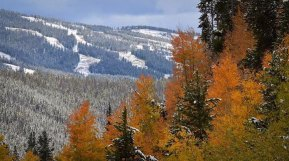 September snow in Keystone
