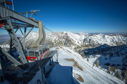 Snowbird looking nearly ready for winter on Sept. 25 | Photo: Chris Segal, Snowbird