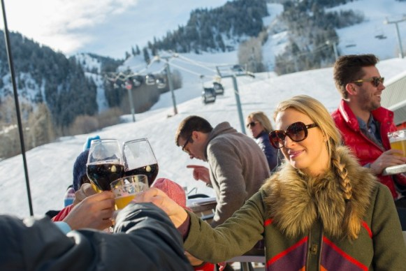 The Ajax Tavern is a top spot to enjoy gourmet eats, great wine and exceptional views of the slopes. | Photo: Aspen Snowmass