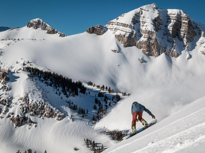 Jackson Hole snow, Jackson Hole powder