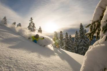 """The resort has received 638"""" snow to-date. 