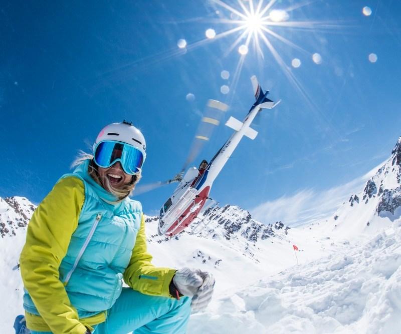 portillo heli skiing