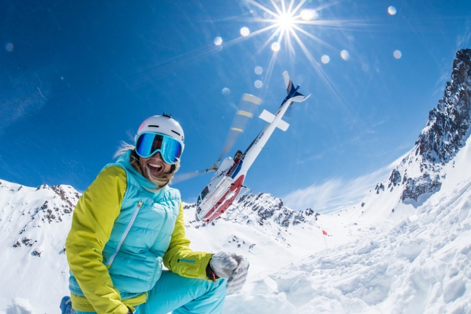 portillo heli skiing, portillo chile