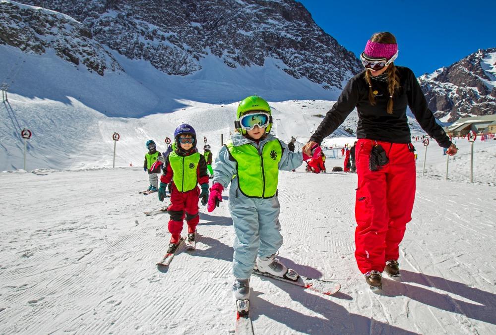 portillo kids ski school, portillo chile