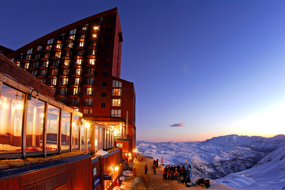 hotel Valle Nevado, all inclusive Valle Nevado